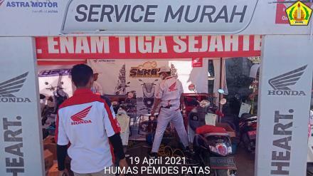 SERVICE MURAH SEPEDA MOTOR OLEH PT. ENAM TIGA SEJAHTERA